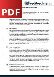 Checkliste zum Forderungsmanagement kostenlos als PDF downloaden