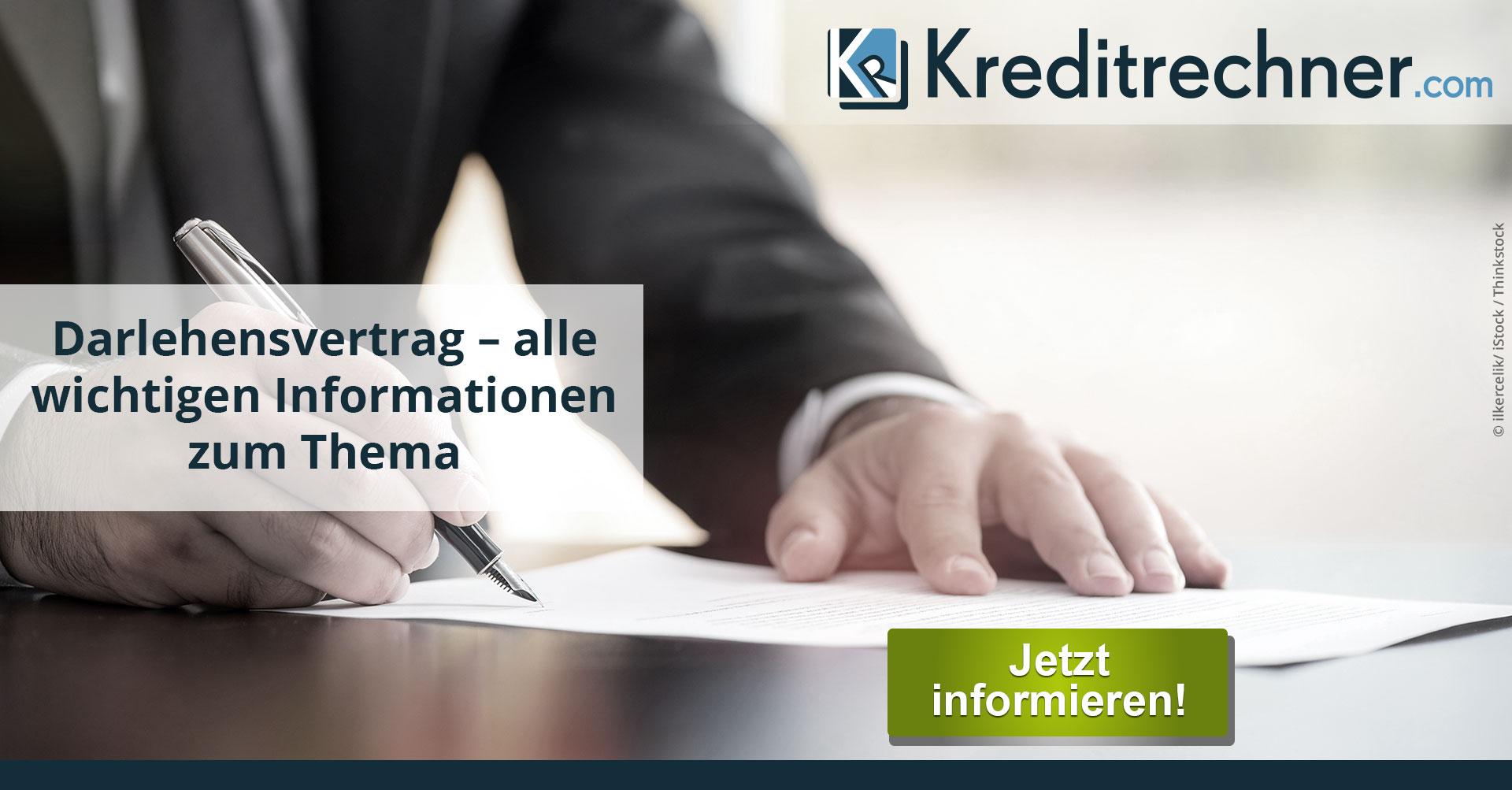 Der Darlehensvertrag - Definition und Muster als PDF